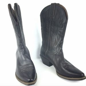 Nocona Cowboy Boots 7.5 B Brown Leather Competitor